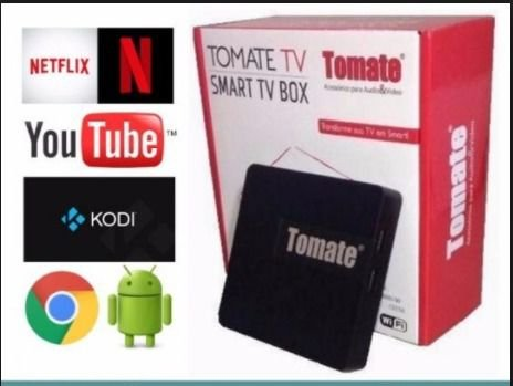Tv Box Smart TV Tomate 4K Ultra HD MCD-119