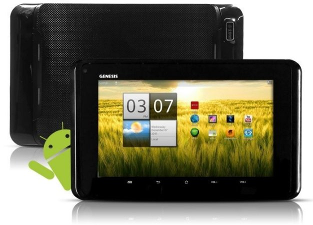 Tablet Genesis Gt-7200 2 Câmeras Android 4.0 Wi-fi USB Hdmi 3g Dongle