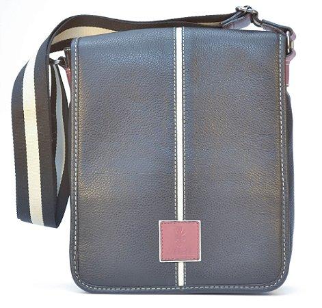 Bolsa de couro pequena - A5052 - preta