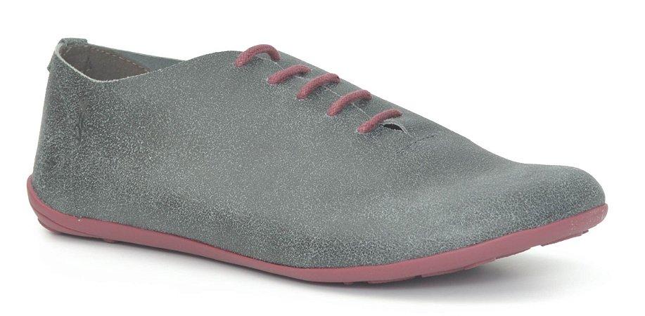 Sapato Feminino em couro Wuell Casual Shoes - Miscanti 065621 - selvagem preto