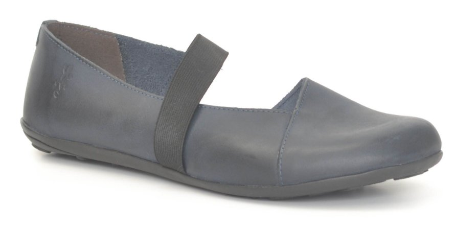 Sapato Feminino em couro Wuell Casual Shoes - SISA 028620 - stone marinho