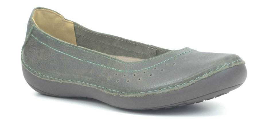 Sapatilha Feminina em Couro Wuell Casual Shoes - Valle del Arcoiris - TI 704 - verde