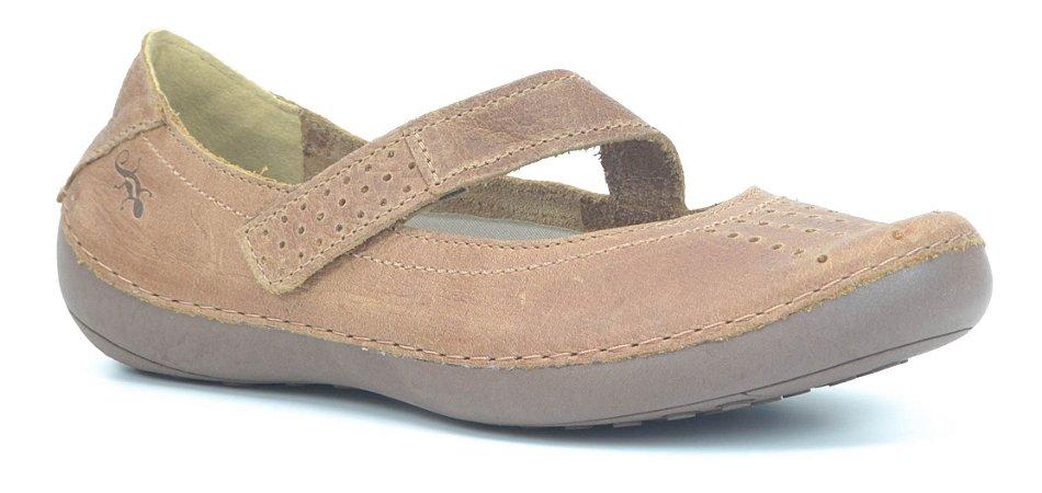 Sapato Feminino em Couro Wuell Casual Shoes - Valle del Arcoiris - TI 804 - linhaça