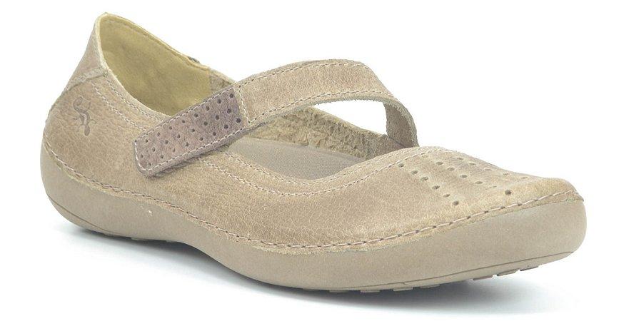 Sapato Feminino em Couro Wuell Casual Shoes - Valle del Arcoiris - TI 804 - fendi  cacau