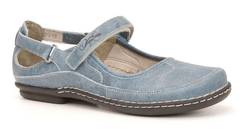 Sapato Feminino em couro Wuell Casual Shoes - Tiradentes - MA 7701 - indigo
