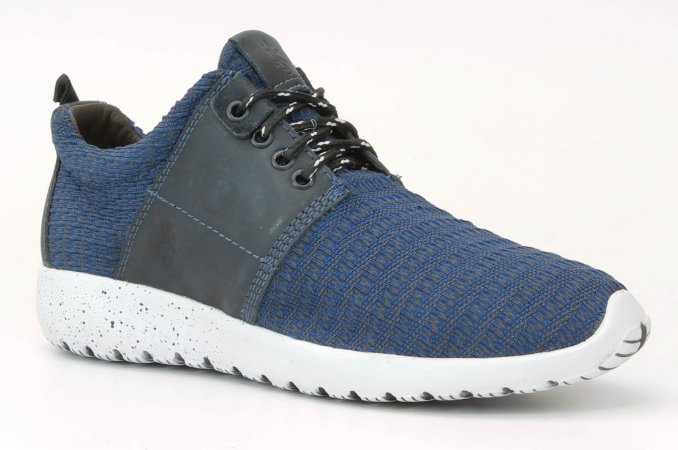 Tênis Masculino em tecido e couro Wuell Casual Shoes - Caraça - PST 10 - azul