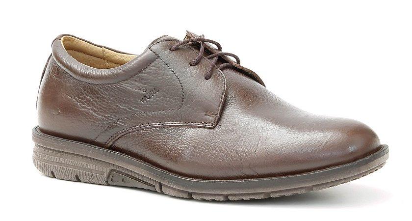 Sapato Masculino Wuell Casual Shoes - Caraça - TPS 80130 - marrom