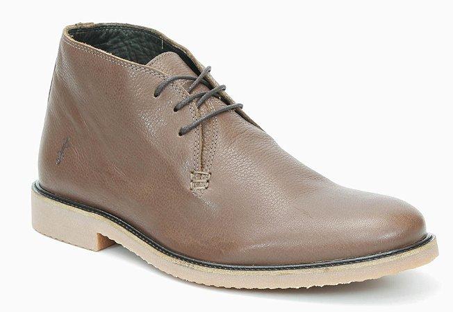 Bota Masculina em Couro Wuell Casual Shoes - Men - S 00219 - marrom