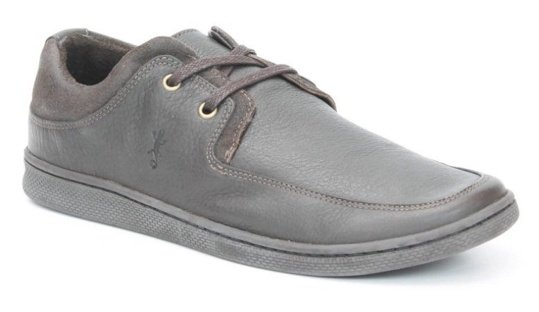 Sapato Masculino em Couro Wuell Casual Shoes - Men - S 1540 - marrom