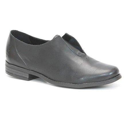 Sapato Feminino em couro Wuell Casual Shoes - PACHA 9815 - preto