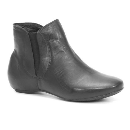 Bota Feminina em Couro Wuell Casual Shoes - KUKA 2542 - preta