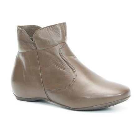 Bota Feminina em Couro Wuell Casual Shoes - KUKA 2042 - marrom