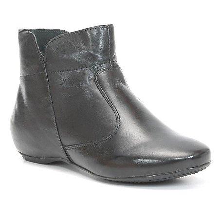 Bota Feminina em Couro Wuell Casual Shoes - KUKA 2042 - preta