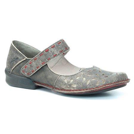 Sapato Feminino em couro Wuell Casual Shoes - KOYA - NC 0800 - marrom rústico