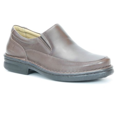 Sapato Masculino em Couro Wuell Casual Shoes - Men -TPS - 80141 - marrom