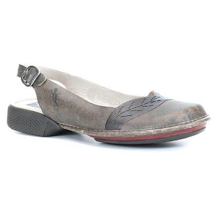 Sapato Feminino em couro Wuell Casual Shoes - Cris - AD 4100 -  café