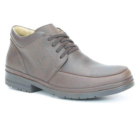 Bota Masculina em Couro Wuell Casual Shoes - Men -TPS - 21624 - marrom
