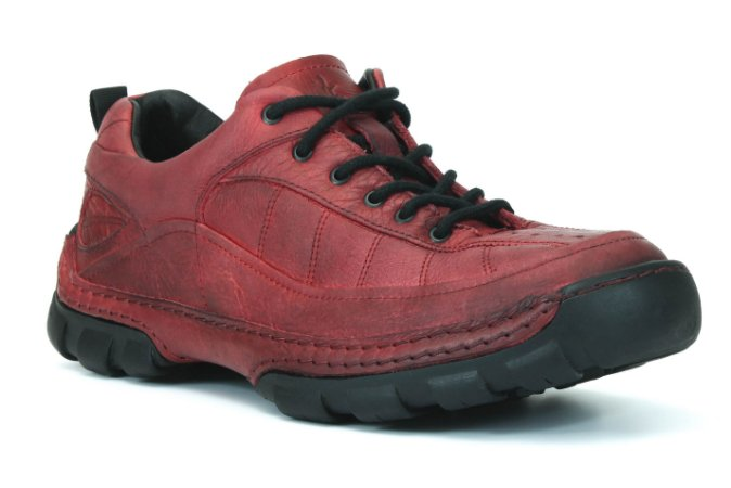 Sapato Masculino Wuell Casual Shoes - Men - Monterey 40 - vermelho