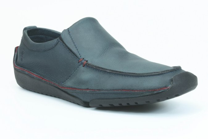 Sapato Masculino em Couro Wuell Casual Shoes - Men - Havana 20 marinho
