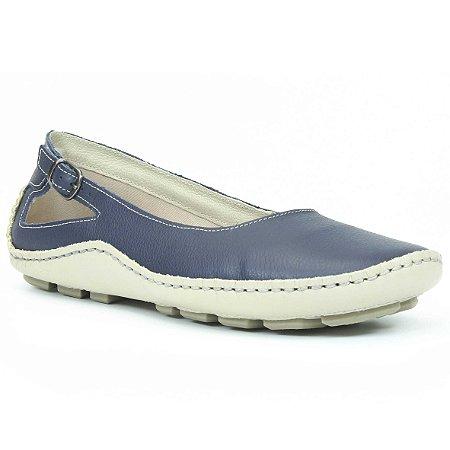 Sapatilha Feminina Wuell Casual Shoes - Classic - Madri 606 - marfim e  indigo