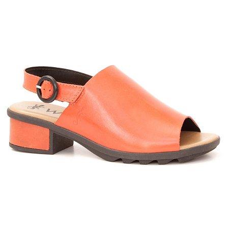 Sandália Feminina em couro Wuell Casual Shoes - TORRES DEL PAINE - TI 70139 - vermelha