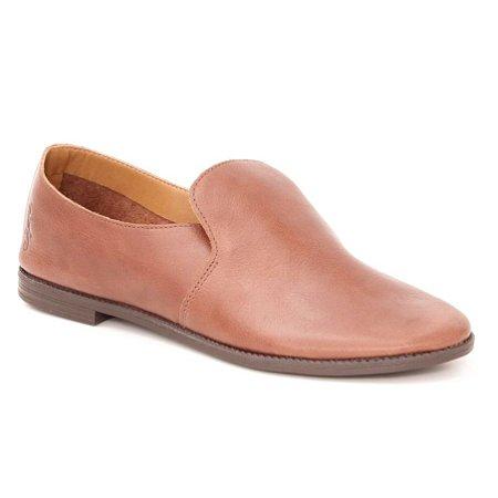 Sapato Feminino em Couro Wuell Casual Shoes - Lençóis - BZ 9124 - marrom rústico