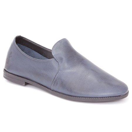 Sapato Feminino em Couro Wuell Casual Shoes - BZ 9124 - azul marinho