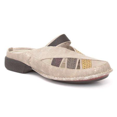 Babuch Feminina em couro Wuell Casual Shoes - Castelo - JAD 6900 - areia