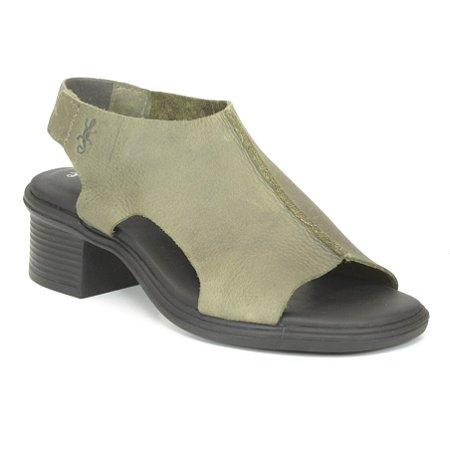 Sandália feminina em Couro Wuell Casual Shoes - RO 00117 - verde