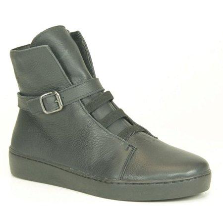Bota feminina em Couro Wuell Casual Shoes - RO 5785 - marinho