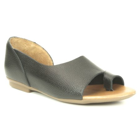 Sandália Feminina em couro Wuell Casual Shoes - AB 180 - preta