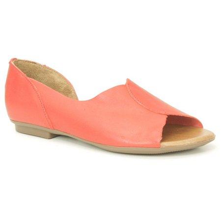 Sandália Feminina em couro Wuell Casual Shoes - AB 170 - vermelho