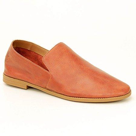 Sapato feminino em Couro Natural Wuell Casual Shoes - BZ 281 - marrom