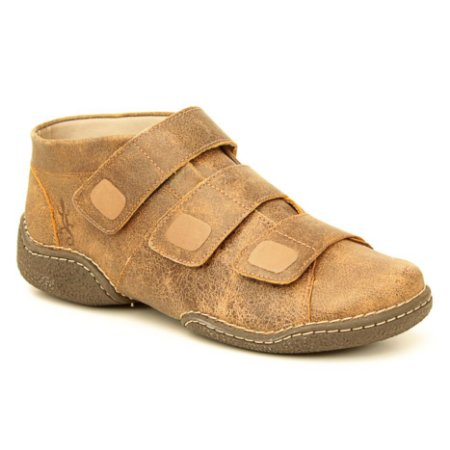 Bota Feminina em Couro Natural Wuell Casual Shoes - JMC 2300 - laranja