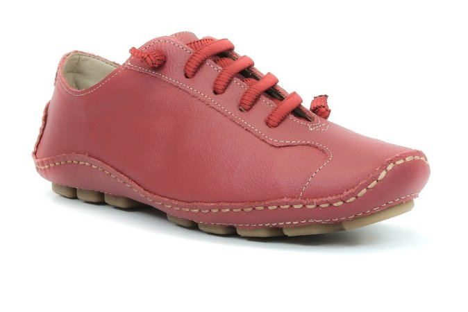 Sapatenis Wuell Casual Shoes - Classic - Madri 320 -  Floater vermelho