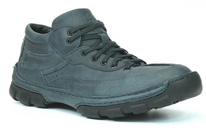 Bota Cano baixo Masculina Wuell Casual Shoes -  Monterey  10 marinho