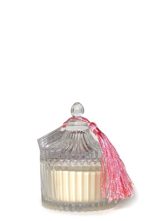 Vela Vegetal Perfumada Pimenta Rosa