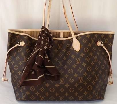 873b76e3c Bolsa neverfull Louis vuitton monogram - Divas de luxo produtos de ...