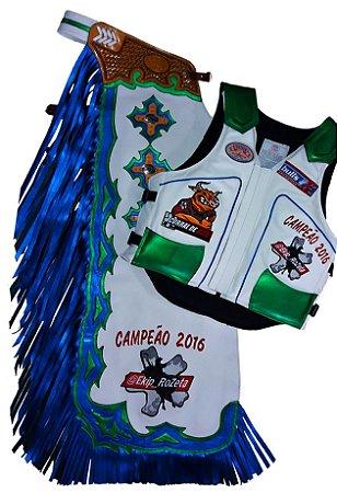 Kit Calça e Colete Personalizado Campeão Ekip Rozeta temporada 2016