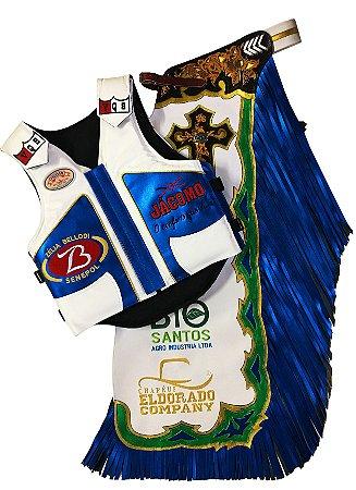 Kit Calça e Colete Personalizado Campeão Barretos 2017