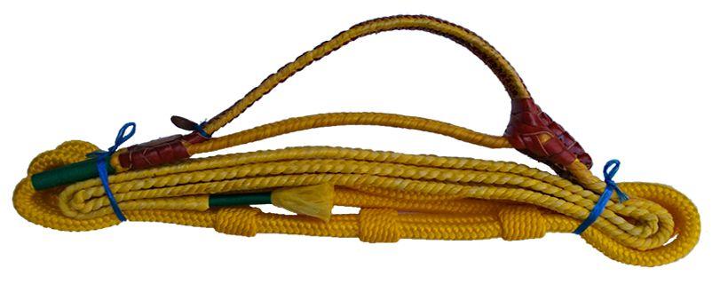 Corda de Montaria Mista Fabio Ribeiro Amarela