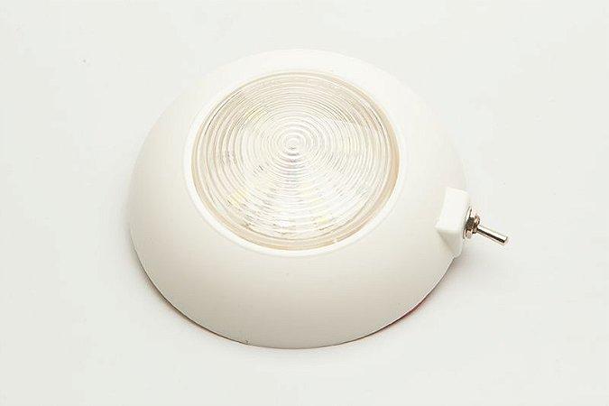 Luminária Interna em LED com Chave Branco Frio 12V E1165
