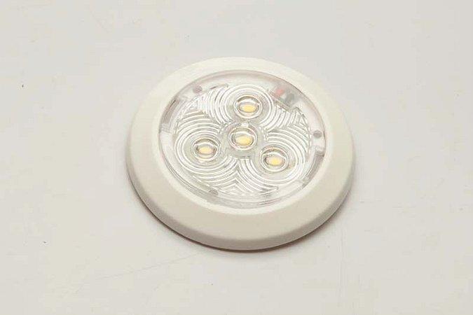 Luminária Interna Utilitária em LED 12V Branco Frio E1235