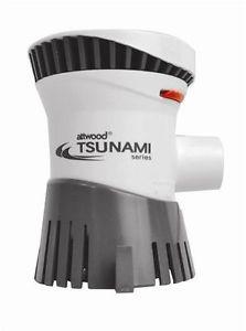 Bomba de Porão 1200 GPH 12V AttWood Tsunami