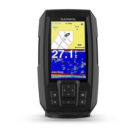 GPS Sonar Garmin Striker Plus 4 c/ Transdutor de Feixe Duplo