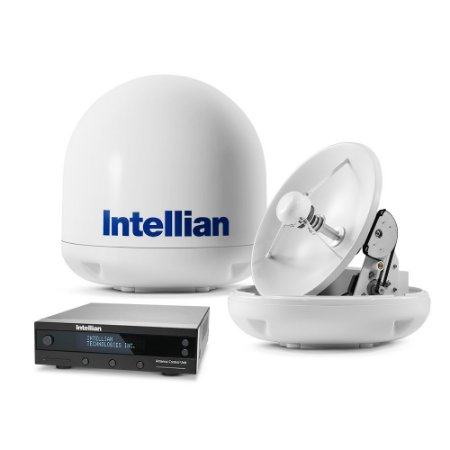 Antena de TV via Satélite Intellian i3 HDTV