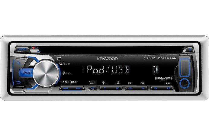 CD Player Marinizado KenWood KMR-355U USB AUX