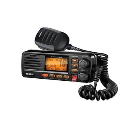 Radio VHF Maritimo Uniden Solara UM380BK Preto