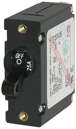 Disjuntor Magnético Unipolar 25A BlueSea 7216