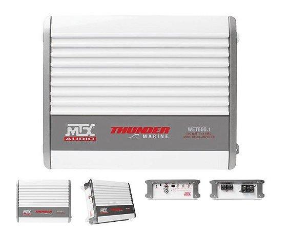 Amplificador WET500.1 Class d Marine 1000W